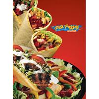 Presentation Folder design, Food