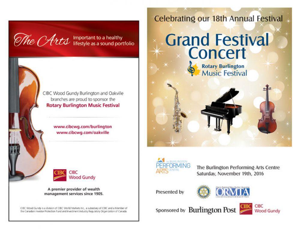 Festival Concert Program