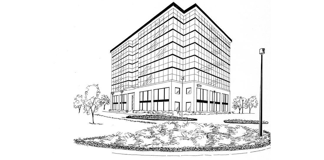 illustration, graphic designer, corporate building